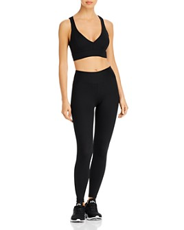 Year of Ours - Years of Ours Ribbed Sports Bra & Leggings