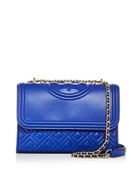 Tory Burch - Fleming Small Leather Convertible Shoulder Bag