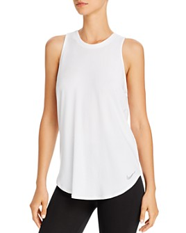 Nike - Twist Open-Back Tank