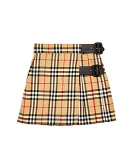 Burberry - Girls' Luiza Vintage Check Wool Kilt - Little Kid, Big Kid