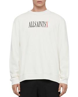 ALLSAINTS - ALLSAINTS X Alex Logo Crewneck Sweatshirt - 100% Exclusive