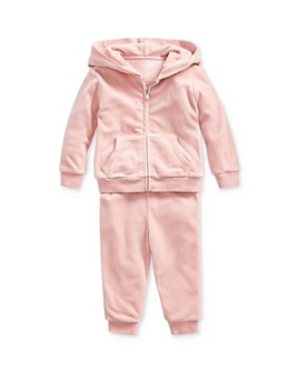 Ralph Lauren - Girls' Velour Hoodie & Pants Set - Baby