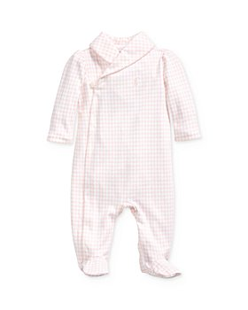 Ralph Lauren - Girls' Houndstooth Footie - Baby