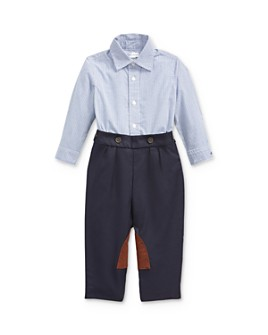 Ralph Lauren - Boys' Checkered Shirt & Pleated Pants Set - Baby