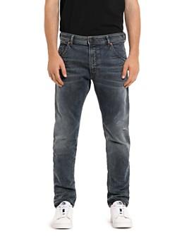 Diesel - Slim Fit Krooley-T Sweat Jeans in Denim