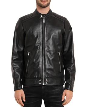 Diesel - L-Shiro Leather Moto Jacket