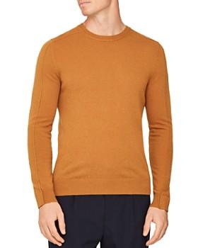 REISS - Jinks Reverse-Seam Wool & Cashmere Crewneck Sweater