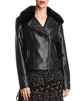 Bailey 44 - Audrey Faux Leather Moto Jacket