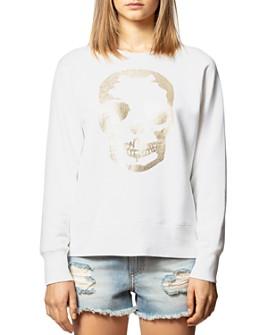 Zadig & Voltaire - Gold Foiled Skull Sweatshirt