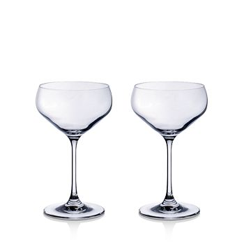 Villeroy & Boch - Purismo Champagne Coup, Set of 2