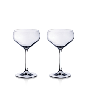 Villeroy & Boch Purismo Champagne Coup, Set of 2