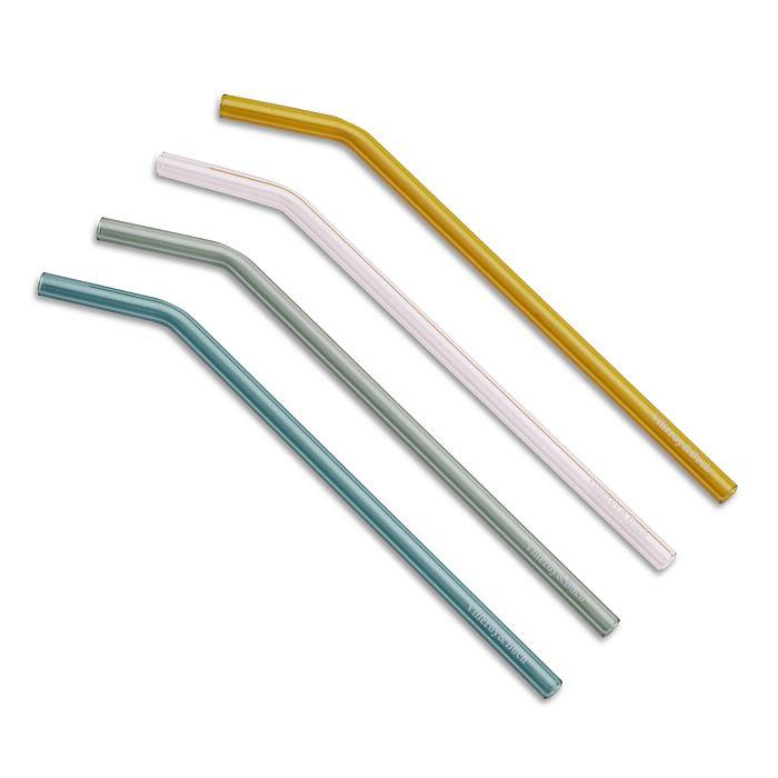 Villeroy & Boch - Glass Straws, Set of 4