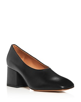 Marni - Women's Square-Toe Block-Heel Pumps