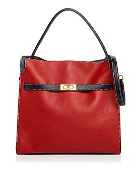 Tory Burch - Lee Radziwill Medium Leather Shoulder Bag