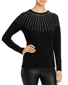 Calvin Klein - Embellished Crewneck Sweater
