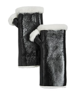 Yves Salomon - Shearling-Lined Fingerless Mittens