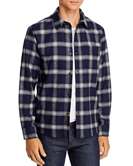 A.P.C. - Trek Regular Fit Plaid Shirt