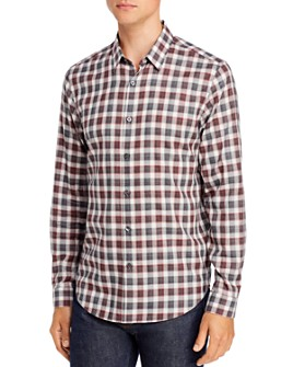 Theory - Betton Check Regular Fit Shirt