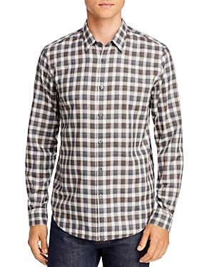 Theory T-shirts BETTON CHECK REGULAR FIT SHIRT