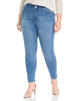Seven7 Jeans Plus - Lia Tummyless Skinny Jeans in Albion