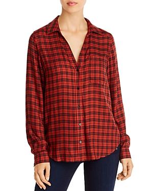 Paige Neve Plaid Button-Down Shirt