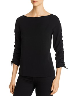SNIDER - Magic Drawcord-Sleeve Top
