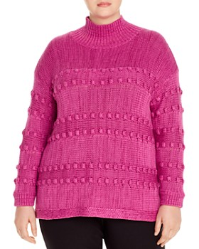 NIC and ZOE Plus - Adore A Ball Textured Sweater
