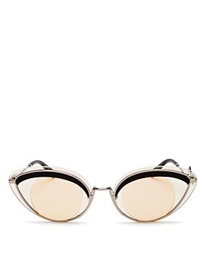 Kenzo Women\\\'s Cat Eye Sunglasses, 43mm