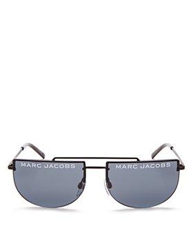 MARC JACOBS - Women's Flat Top Brow Bar Rimless Aviator Sunglasses, 56mm