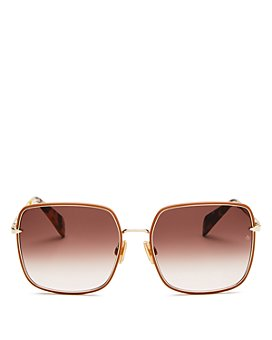 rag & bone - Women's Square Sunglasses, 58mm