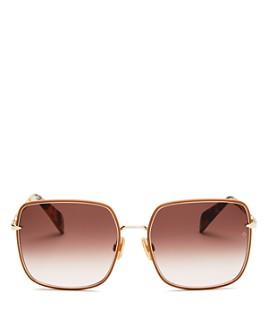 rag & bone - Women's Square Sunglasses, 58mm