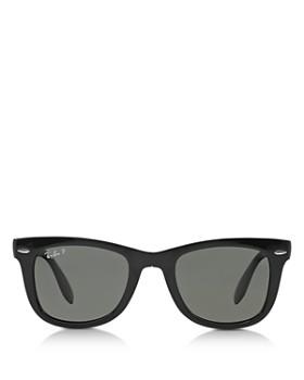 Ray-Ban - Unisex Folding Polarized Wayfarer Sunglasses, 50mm
