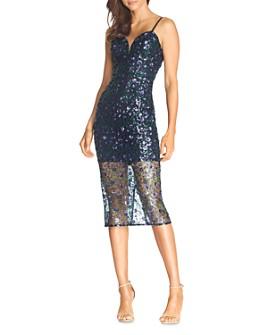 Dress the Population - Addison Sequin Midi Dress