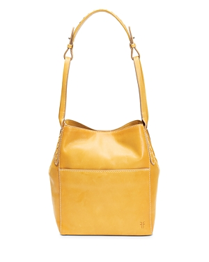 Frye Reed Medium Leather Hobo-Handbags