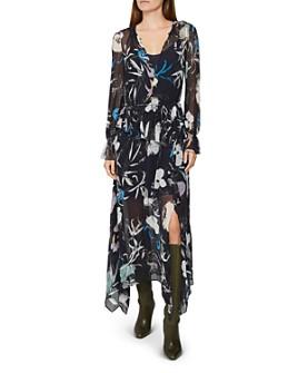 REISS - Carina Spring Floral Maxi Dress