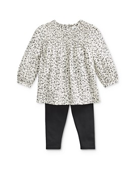 Ralph Lauren - Girls' Smocked Floral Top & Leggings Set - Baby
