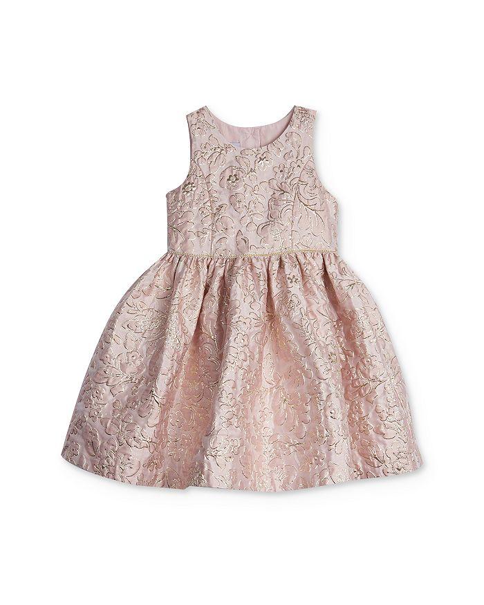 Pippa & Julie - Girls' Floral Brocade Dress - Little Kid