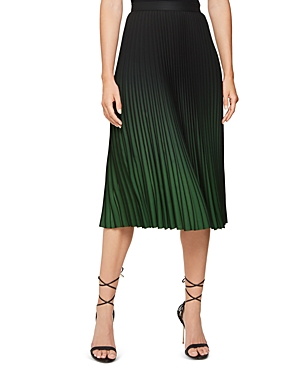 Reiss Skirts MARLIE OMBRÉ PLEATED SKIRT