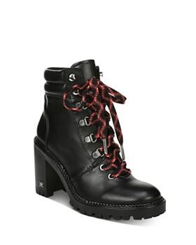Sam Edelman - Women's Sade Block Heel Hiker Boots