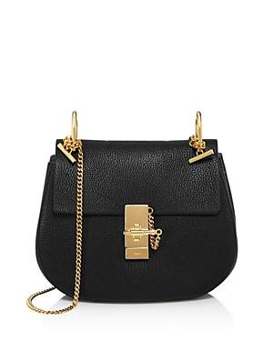 Chloe Drew Small Saddle Shoulder Bag-Handbags