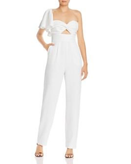 Keepsake - Delight One-Shoulder Jumpsuit