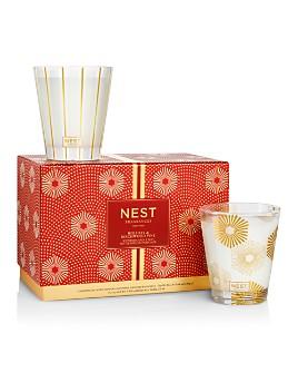 NEST Fragrances - Holiday & Birchwood Pine Classic Candle Duo Set