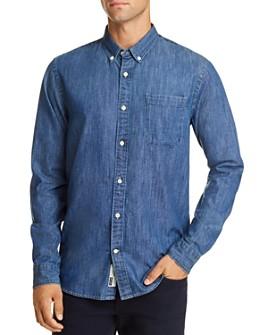 Scotch & Soda - Denim Regular Fit Button-Down Shirt