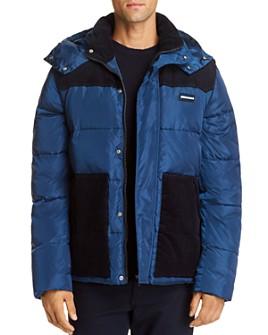 Scotch & Soda - Color-Block Regular Fit Convertible Vest Jacket