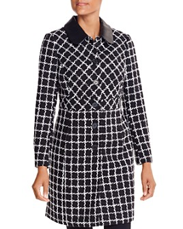 KARL LAGERFELD Paris - Checked Coat