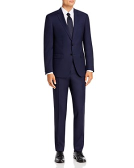 BOSS - Huge/Genius Solid Slim Fit Suit