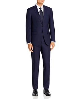 BOSS - Huge/Genius Solid Slim Fit Suit