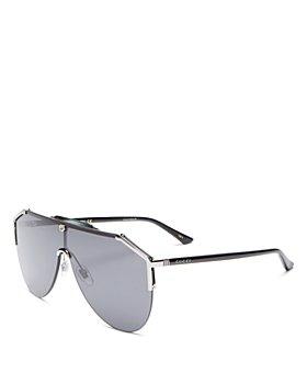 Gucci - Men's Shield Sunglasses, 140mm