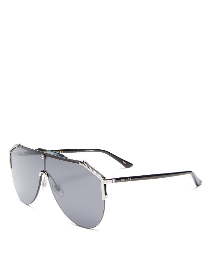 Gucci - Men's Shield Sunglasses, 140mm