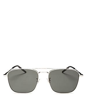 Saint Laurent Men\\\'s Brow Bar Aviator Sunglasses, 58mm-Jewelry & Accessories